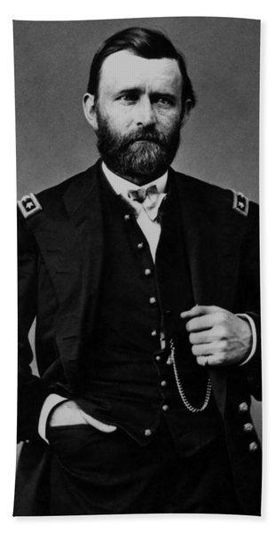 General Grant During The Civil War Hand Towel