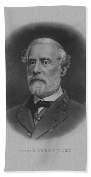 General Robert E. Lee Print Hand Towel