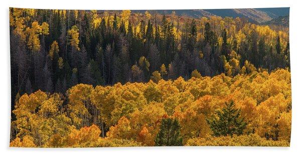 Geyser Pass Road, La Sal Mountains Bath Towel