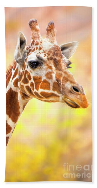 Giraffe, Animal Decor, Nursery Decor,  Hand Towel