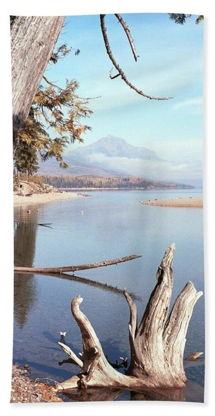 Glacier National Park 3 Bath Towel