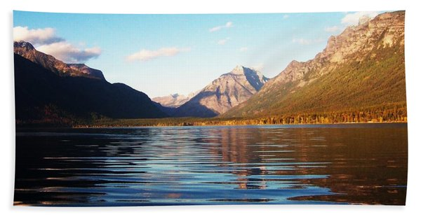Glacier National Park 7 Bath Towel