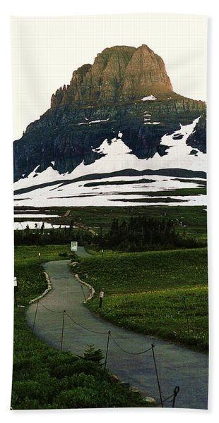 Glacier National Park 8 Bath Towel