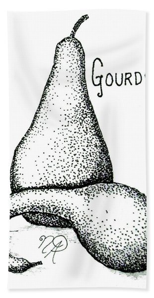 Glorious Gourds Hand Towel