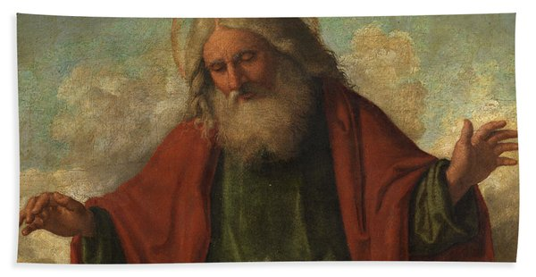 God The Father Bath Towel