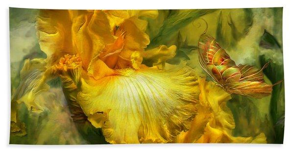 Goddess Of Summer Hand Towel