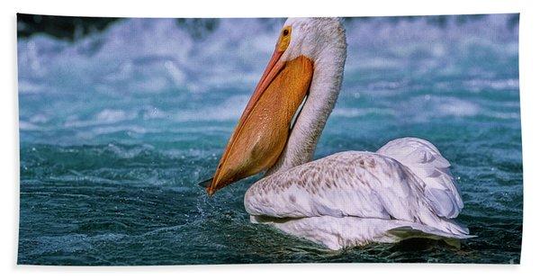 Gone Fishin' Hand Towel