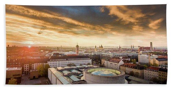 Good Morning  Munich Bath Towel