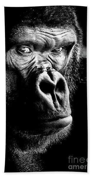 Gorilla Canvas Print, Photographic Print, Art Print, Framed Print, Greeting Card, Iphone Case, Bath Towel