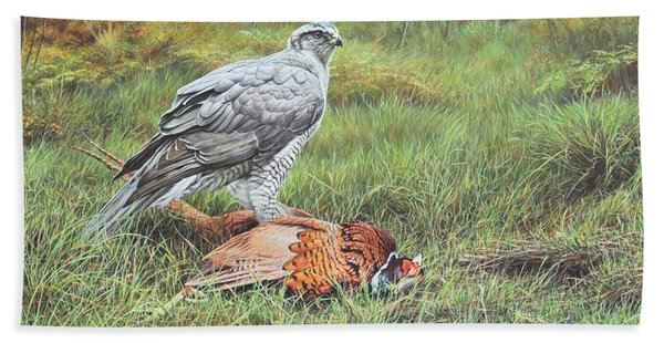 Goshawk Bath Towel