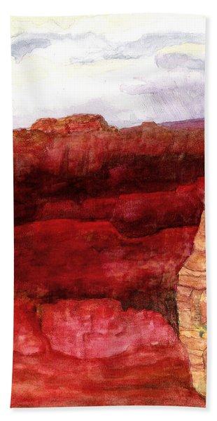 Grand Canyon S Rim Bath Towel