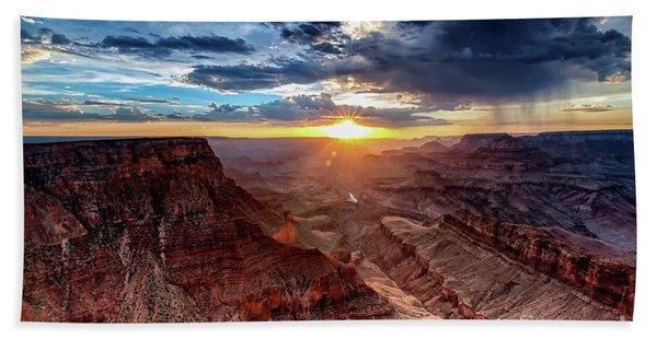 Grand Canyon Sunburst Hand Towel