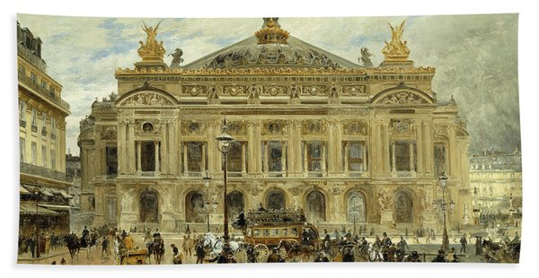 Grand Opera House, Paris Bath Towel