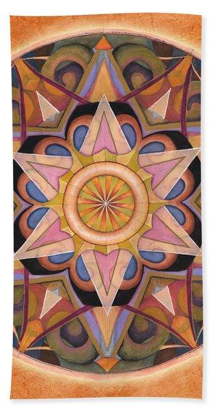 Gratitude Mandala Hand Towel