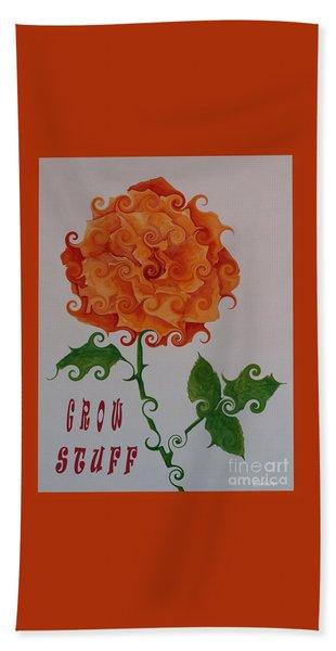 Grow Stuff Hand Towel