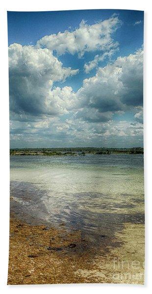 Gulf Beach Beauty Hand Towel