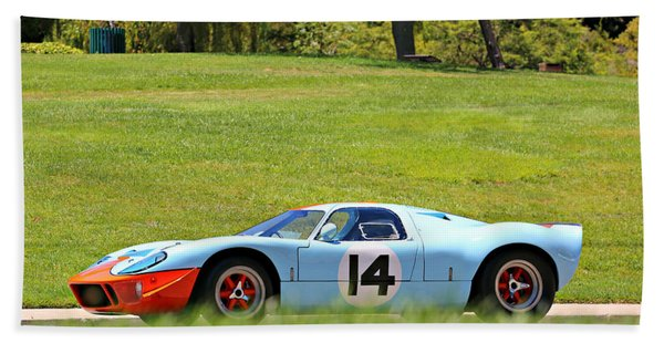 Gulf Mirage Ford Gt40 Hand Towel