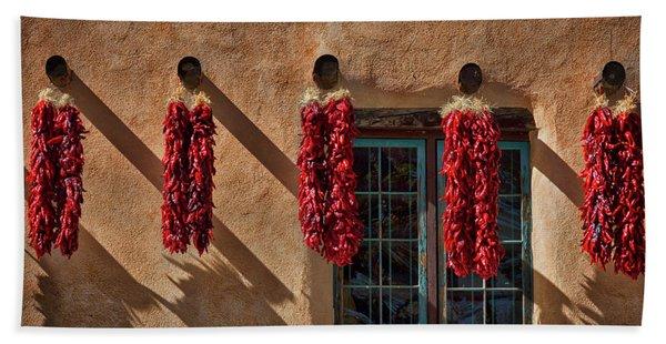Hanging Chili Ristras - Taos Hand Towel