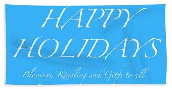 Happy Holidays - Day 5 Hand Towel