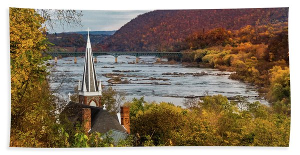 Harpers Ferry, West Virginia Hand Towel