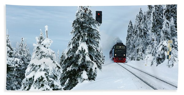 Harz Ballooning And Brocken Railway Hand Towel