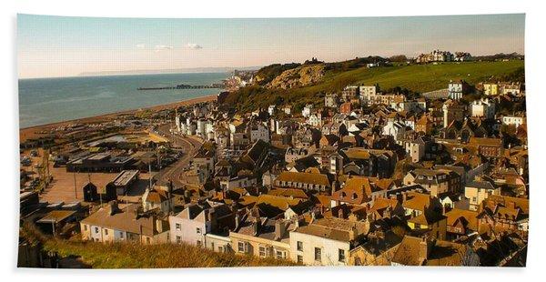 Hastings, Sussex, England Hand Towel