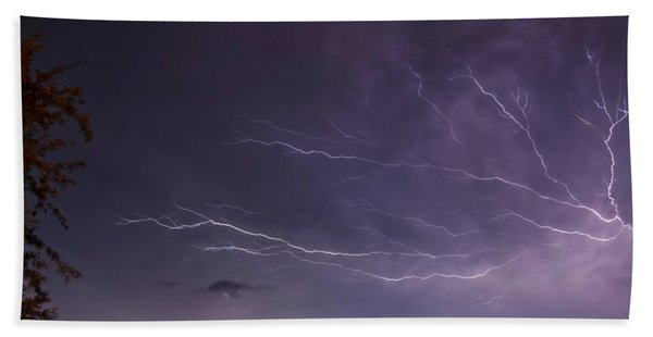 Heat Lightning Bath Towel