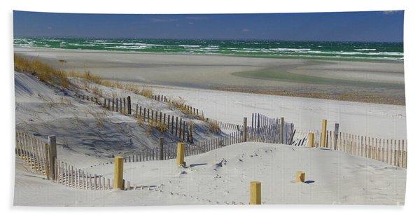 Heaven At Mayflower Beach Hand Towel