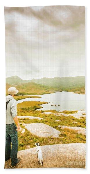Hidden Tasmania Trails Hand Towel