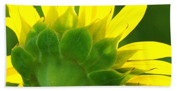 Highlight Sunflower Hand Towel