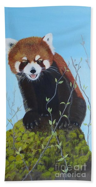 Himalayan Red Panda Hand Towel