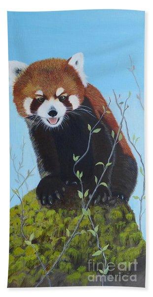 Himalayan Red Panda Bath Towel