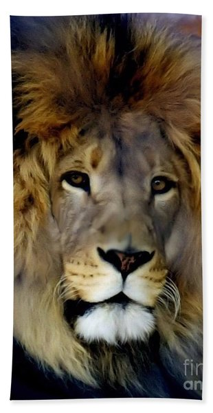 His Majesty The King Bath Towel