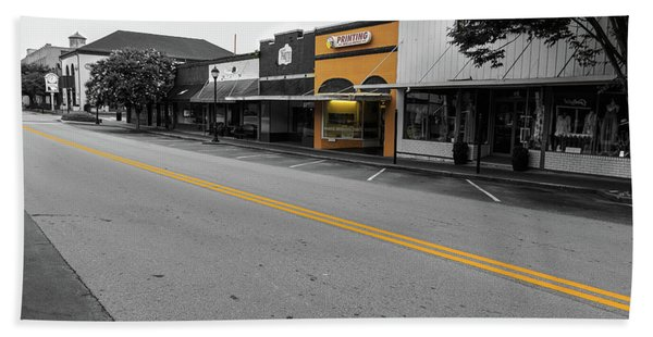 Historic Buford In Selective Color Hand Towel