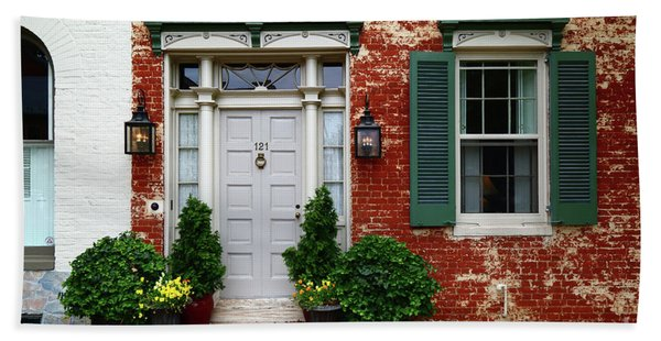 Historic House In Frederick Maryland Hand Towel