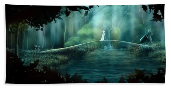 Hope To The Dunedain Bath Towel
