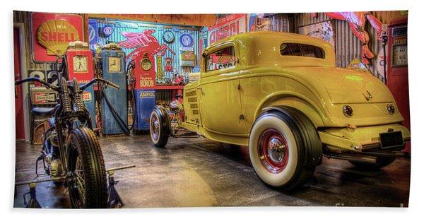 Hot Rod Garage 1 Hand Towel