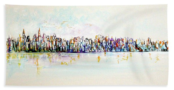 Hudson River View Hand Towel