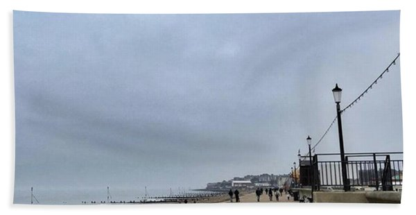 Hunstanton At 4pm Yesterday As The Bath Towel