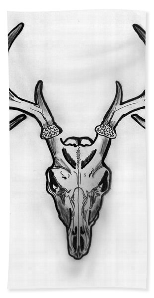 I Exist Bath Towel
