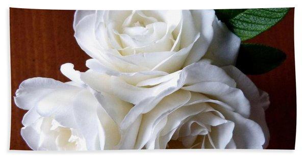 Iceberg Rose Trio Hand Towel