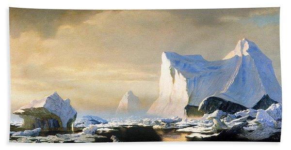 Icebergs Bath Towel