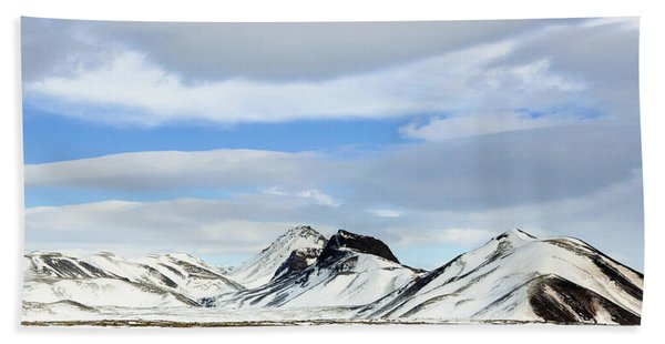 Icelandic Wilderness Hand Towel