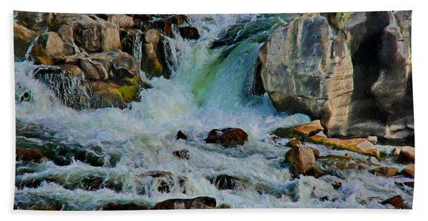 Idaho Falls Hand Towel