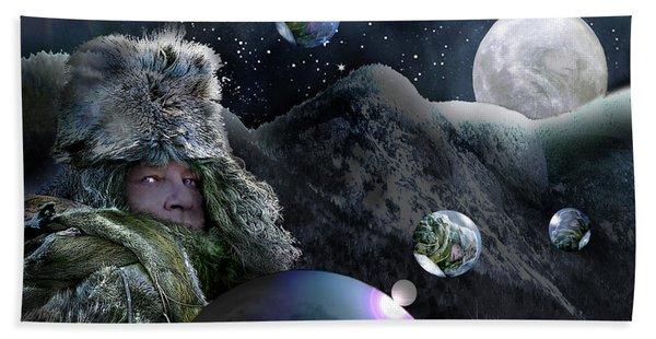 If I Were The Moon Bath Towel