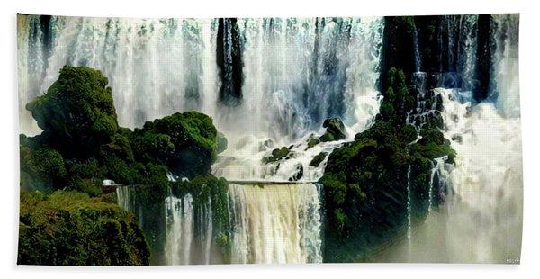 Iguazu Falls Hand Towel