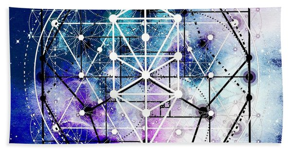 Bath Towel featuring the digital art Intertwined  by Bee-Bee Deigner