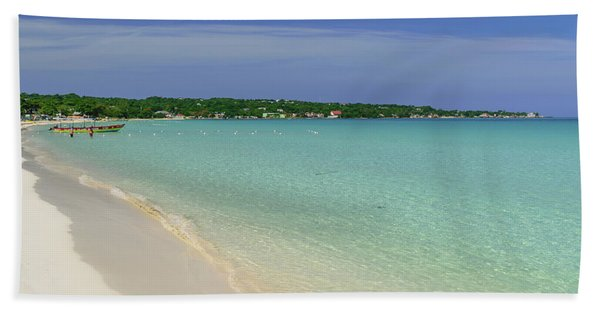 Seven Mile Beach, Negril Hand Towel