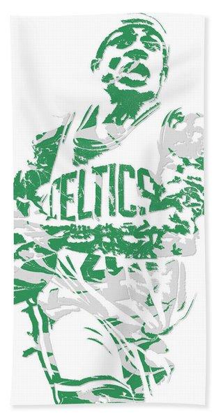 Isaiah Thomas Boston Celtics Pixel Art 15 Hand Towel