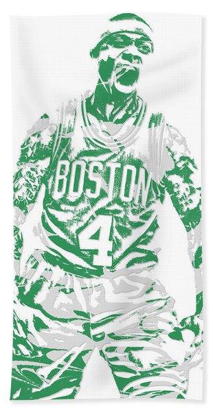 Isaiah Thomas Boston Celtics Pixel Art 16 Hand Towel